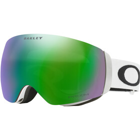 Oakley Flight Deck XM Snow Goggles Dame matte white/prizm jade iridium